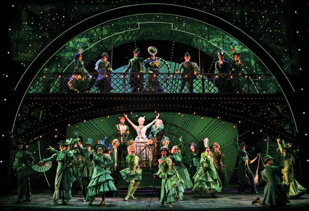 <em>Wicked</em> blows into town and stays through Jan. 12, 2013. (Photo: © Joan Marcus)